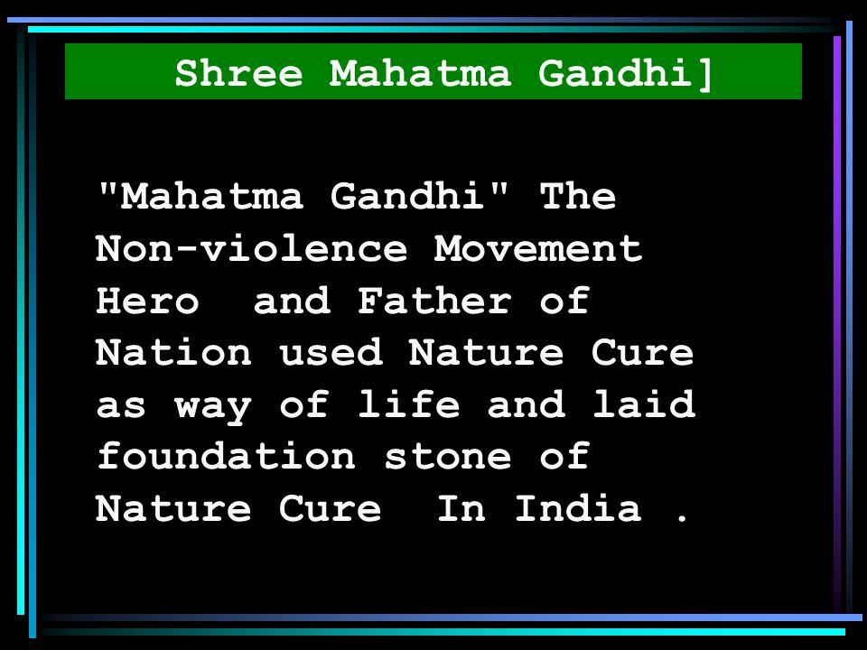 Shree Mahatma Gandhi]
